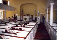 Interior of Road Church